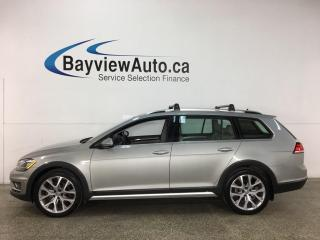 Used 2019 Volkswagen Golf Alltrack 1.8 TSI Execline - AWD! LOADED! for sale in Belleville, ON