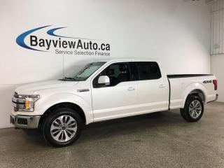 Used 2018 Ford F-150 Lariat - 4X4! ECOBOOST! NAV! PANOROOF! HEATED/COOLED LEATHER! + MORE! for sale in Belleville, ON
