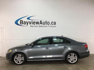Used 2015 Volkswagen Jetta 2.0 TDI Highline - MANUAL! SUNROOF! HEATED LEATHER! + MORE! for sale in Belleville, ON