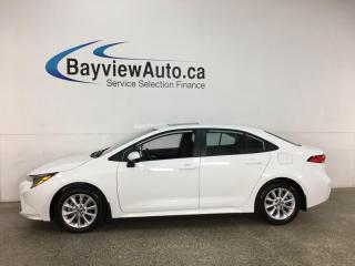 Used 2021 Toyota Corolla LE - AUTO! REVERSE CAM! ALLOYS! ONLY 1900KMS! for sale in Belleville, ON