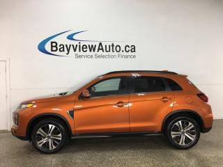 Used 2020 Mitsubishi RVR GT - HEATED LEATHER! PANOROOF! AWD! ONLY 19 KMS! for sale in Belleville, ON