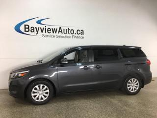 Used 2017 Kia Sedona - REVERSE CAM! ECO MODE! FULL PWR GROUP! for sale in Belleville, ON