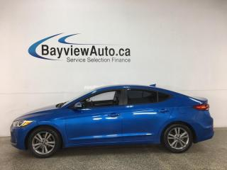 Used 2018 Hyundai Elantra GL - AUTO! REVERSE CAM! ALLOYS! + MORE! for sale in Belleville, ON