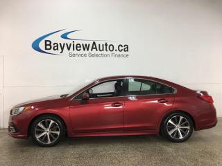 Used 2019 Subaru Legacy 2.5i Limited w/EyeSight Package - AWD! HEATED LEATHER! NAV! SUNROOF! for sale in Belleville, ON