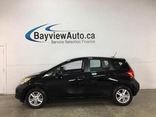 Used 2014 Nissan Versa Note 1.6 SV - 5SPD! REVERSE CAM! ALLOYS! FUEL SAVER! for sale in Belleville, ON