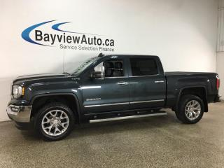 Used 2018 GMC Sierra 1500 SLT - 5.3L! V8! 4X4! HEATED LEATHER! NAV! SUNROOF! for sale in Belleville, ON
