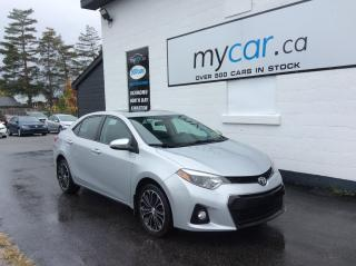 Used 2015 Toyota Corolla SUNROOF. LEATHER. ALLOYS. HEATED SEATS. A/C. for sale in Kingston, ON