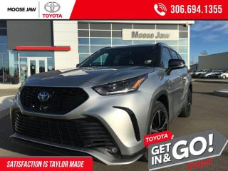 New 2021 Toyota Highlander XSE for sale in Moose Jaw, SK