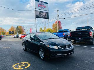 Used 2013 Honda Civic LX / NEW MVI! / SUPER CLEAN! for sale in Truro, NS