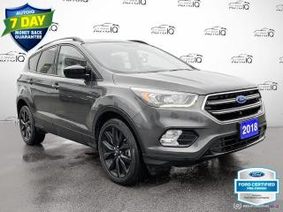 Used 2018 Ford Escape SE AWD Cloth/Heated Seats/Bluetooth for sale in St Thomas, ON