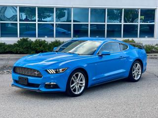 Used 2017 Ford Mustang EcoBoost, NAVIGATION,LEATHER,REAR CAMERA,COUPE for sale in North York, ON