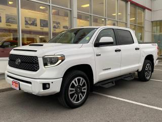 Used 2019 Toyota Tundra SR5 Plus 5.7L V8 CREWMAX TRD SPORT! for sale in Cobourg, ON