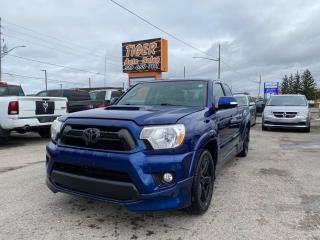Used 2014 Toyota Tacoma X-Runner*RARE*GREAT CONDITION*CAM*MANUAL*CERTIFI for sale in London, ON