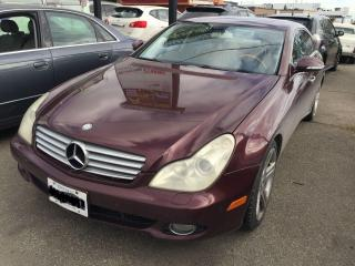 Used 2006 Mercedes-Benz CLS-Class 5.0L for sale in Mississauga, ON