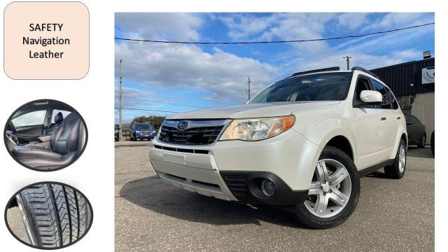2010 Subaru Forester Auto 2.5X Limited NAVIGATION LEATHER SAFETY NEW T