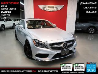 Used 2016 Mercedes-Benz CLS-Class ACCIDENT FREE/CERTIFIED/FINANCE for sale in Oakville, ON