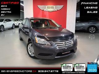 Used 2014 Nissan Sentra 4DR SDN CVT SV for sale in Oakville, ON