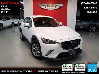 Used 2016 Mazda CX-3 NAVI/ACCIDENT FREE/CERTIFIED/FINANCE for sale in Oakville, ON