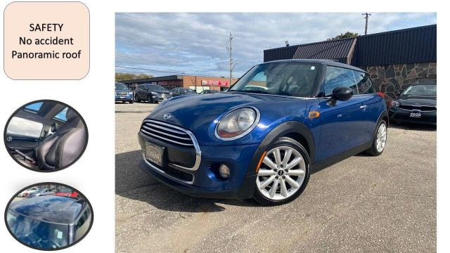2014 MINI Cooper 2dr Cpe 6sp Manual PANORAMINC ROOF SAFETY B-TOOTH