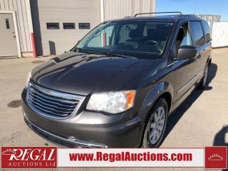 Used 2015 Chrysler Town & Country TOURING for sale in Calgary, AB