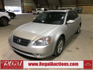 Used 2004 Nissan Altima SL for sale in Calgary, AB