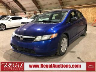 Used 2007 Honda Civic DX-G for sale in Calgary, AB