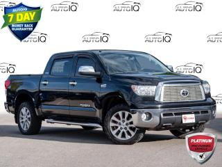 Used 2012 Toyota Tundra Limited 5.7L V8 Toyota Quality Toyota Dependability for sale in Welland, ON