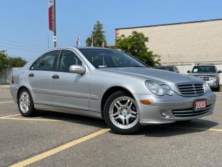 Used 2005 Mercedes-Benz C-Class 1.8L Kompressor - Leather - Alloys - Low KMS!!! for sale in Mississauga, ON