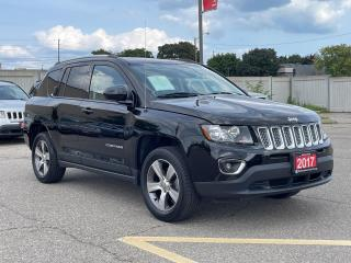 Used 2017 Jeep Compass High Altitude Edition - Leather - Sunroof - R.Cam for sale in Mississauga, ON