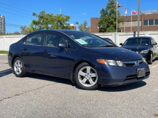 Used 2006 Honda Civic LX - AUTO - AIR - ALLOYS for sale in Mississauga, ON