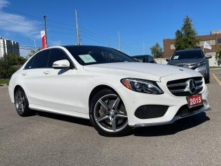 Used 2015 Mercedes-Benz C-Class C 300 4MATIC - SUNROOF - NAVIGATION - LEATHER for sale in Mississauga, ON