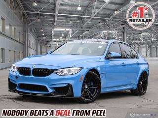 Used 2016 BMW M3 Base for sale in Mississauga, ON