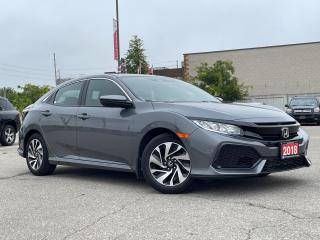 Used 2018 Honda Civic Hatchback LX -  Rear Camera - Alloys - Heated Seats for sale in Mississauga, ON