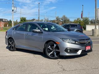 Used 2018 Honda Civic Sedan Touring - Leather - Navigation - Sunroof for sale in Mississauga, ON
