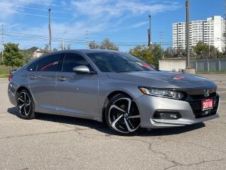 Used 2018 Honda Accord Sedan Sport - Sunroof - Alloys - Lane Watch for sale in Mississauga, ON