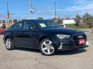 Used 2018 Audi A3 Komfort - Leather - Sunroof - Rear camera for sale in Mississauga, ON