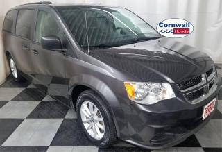 Used 2018 Dodge Grand Caravan SXT - Clean CarFax, One Owner for sale in Cornwall, ON