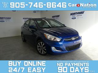 Used 2015 Hyundai Accent GLS | ALLOYS | SUNROOF | WOW ONLY 33 KM! for sale in Brantford, ON