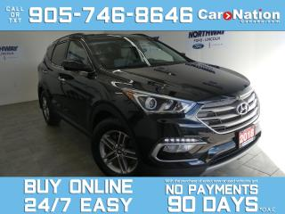 Used 2018 Hyundai Santa Fe Sport BLUETOOTH | REAR CAM | TOUCHSCREEN | ONLY 39 KM! for sale in Brantford, ON