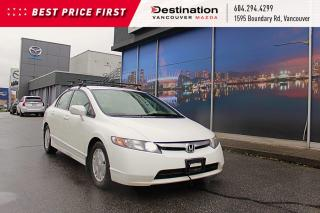 Used 2006 Honda Civic Hybrid Save On Fuel With This Hybrid Model! for sale in Vancouver, BC
