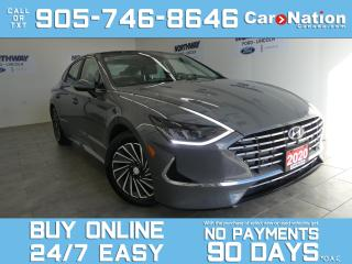 Used 2020 Hyundai Sonata Hybrid ULTIMATE | LEATHER | NAV | BOSE | NEWLY REDESIGNED for sale in Brantford, ON