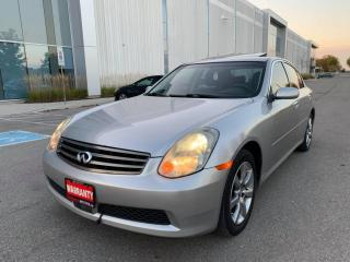 Used 2005 Infiniti G35 G35x 4dr Sdn AWD Auto for sale in Mississauga, ON