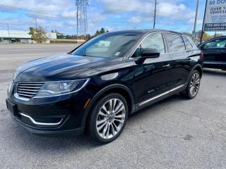 Used 2017 Lincoln MKX NO ACCIDENTS | AWD | NAVI | PANO ROOF | HT SEATS |BACKUP CAM for sale in Barrie, ON