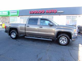 Used 2014 GMC Sierra 1500 Crew Cab 4WD 5.3L V8 No Accident Certified for sale in Milton, ON