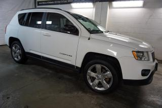 Used 2012 Jeep Compass 4WD LIMITED CERTIFIED *FREE ACCIDENT* LEATHER BLUETOOTH NAV CRUISE ALLOYS AUX for sale in Milton, ON