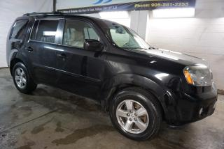 Used 2011 Honda Pilot EX-L 4WD DVD CAMERA CERTIFIED *ONE OWNER* BLUETOOTH SUNROOF HEATED LEATHER ALLOYS for sale in Milton, ON