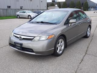 Used 2008 Honda Civic LX Sedan SOLD AS IS – NOT INSPECTED for sale in Guelph, ON