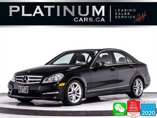 Used 2012 Mercedes-Benz C-Class C250 4MATIC, AMG STYLING PKG, NAV, HEATED SEATS for sale in Toronto, ON