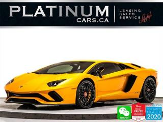 Used 2018 Lamborghini Aventador LP 740-4 S, 740HP, SINGLE CLUTCH, CARBON CERAMICS for sale in Toronto, ON