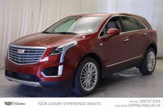 Used 2017 Cadillac XT5 Platinum AWD*LEATHER*SUNROOF*NAV* for sale in Regina, SK